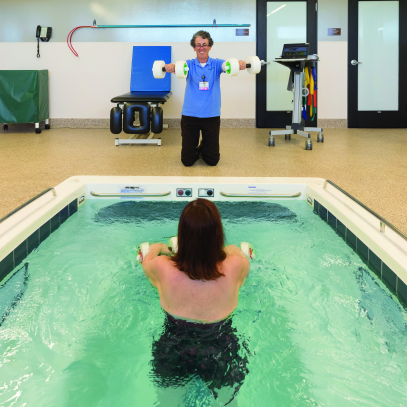 Camp Verde aquatic therapy pool