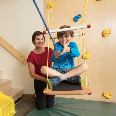 Sensory gym at the Children's Health Center