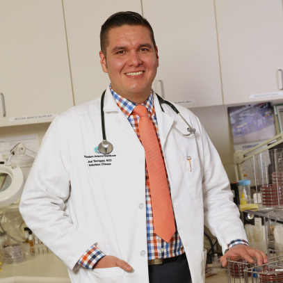 Dr. Terriquez 2017 Physician of the Year