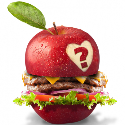 Apple hamburger - HRA